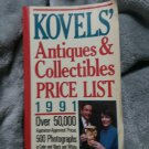 Kovel's Antiques & Collctibles Price List 1991