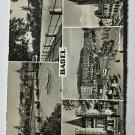 UNUSED VINTAGE MULTI VIEW POSTCARD - BASEL SWITZERLAND (KK2569)