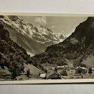 UNUSED VINTAGE POSTCARD - STECHELBURG GROBHORN MITTAGHORN SWITZERLAND (KK2570)
