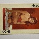 SINGLE 1 PLAYING SWAP CARD - VINTAGE GLAMOUR GIRL (TT570)