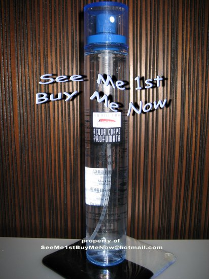 AQUOLINA Scented Body Water BLACKBERRY & MUSK Fragrance Light Body Perfume