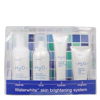 h2o+ WaterWhite Skin Brightening System-Cleanse - Tone - Hydrate 4-piece face SET