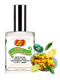 Jelly Belly MANGO PINEAPPLE SALSA Demeter Fragrance Pick-Me Up COLOGNE SPRAY spicy sweet