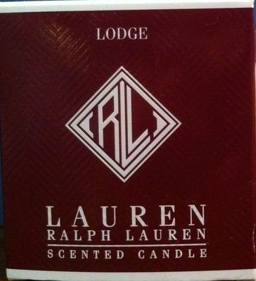 Ralph Lauren LODGE Scented Candle mahogany spices birch wood RL classic HOME FRAGRANCE