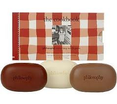 philosophy Cook Book HOT TODDIES Soap Collection SPICED APPLE CIDER Egg Nog RICH HOT COCOA limited