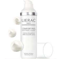 LIERAC PARIS Wrinkle Smoother COMFORT PEEL WRINKLE SMOOTHER CREAM 5% Hydroxy Acids=New Skin Effect!