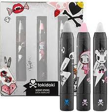 TOKIDOKI Scent Sticks Trio ADIOS & CIAO CIAO & SIBERIA Solid Retractable Fragrance Perfume Pens