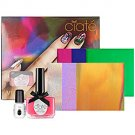 Ciaté VERY COLOURFOIL MANICURE Carnival Couture SET Kiss Chase Nail Polish/Foil Sheets/Glue CIATE