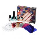 ciate VERY COLOURFOIL KALEIDOSCOPIC KLASH MANICURE 104 Nail Polish/Foil Sheets/Glue Ciaté