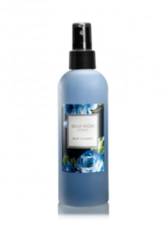discontinued Gilly Hicks BLUE CAMDEN BODY FRAGRANCE MIST Asian Plum Fuji Apple Vanilla SPRAY Scent
