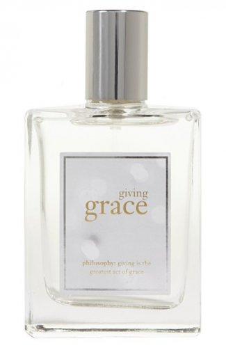 limited editon Philosophy GIVING GRACE Eau de Toilette Spray winter Fragrance jasmine musk mandarin