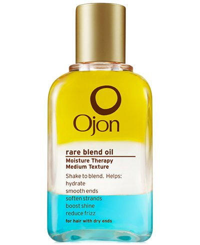 Ojon RARE BLEND OIL MOISTURE THERAPY Medium Texture Dry Ends Hair MONOI Ximenia GRAPESEED