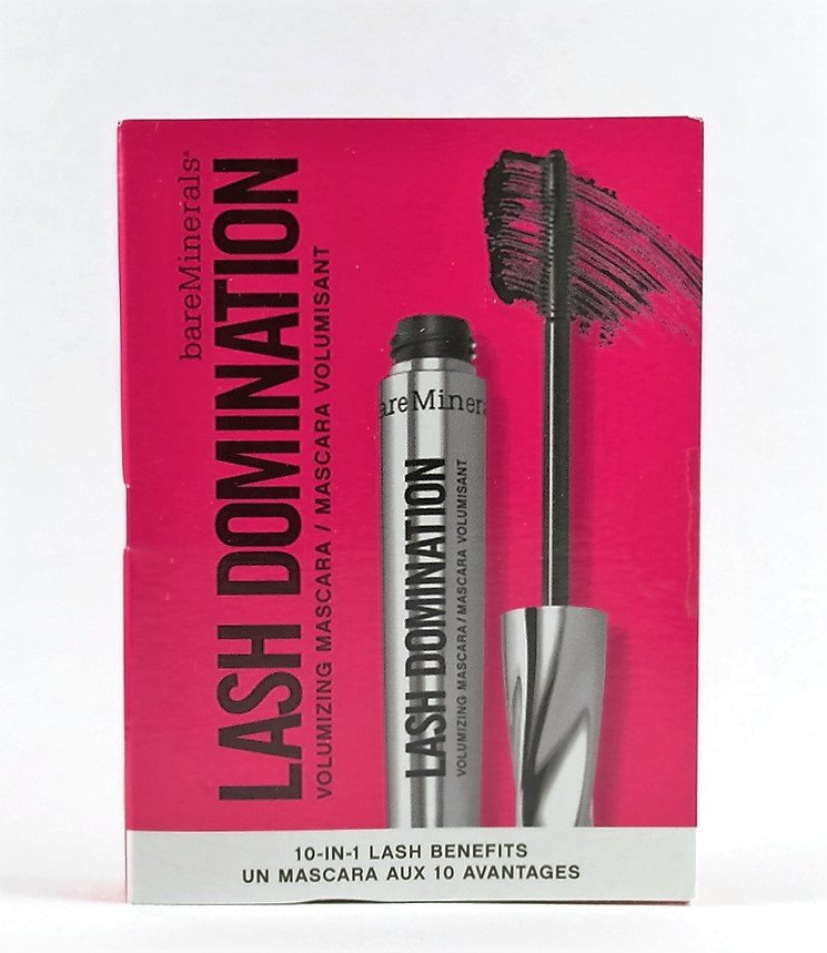 bareMinerals � LASH DOMINATION MASCARA Intense Black Volumizing 10-in-1 SAMPLE bare minerals