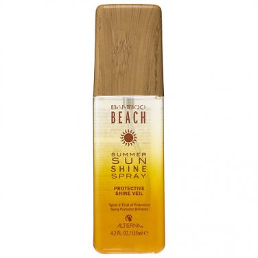 ALTERNA Bamboo Beach SUMMER SUN SHINE SPRAY UVA / UVB Color Protection Hair Mist Veil new!