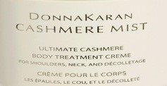 DONNA KARAN Cashmere Mist ULTIMATE RENEWING BODY TREATMENT SHOULDERS NECK DECOLLETE Scented Cream