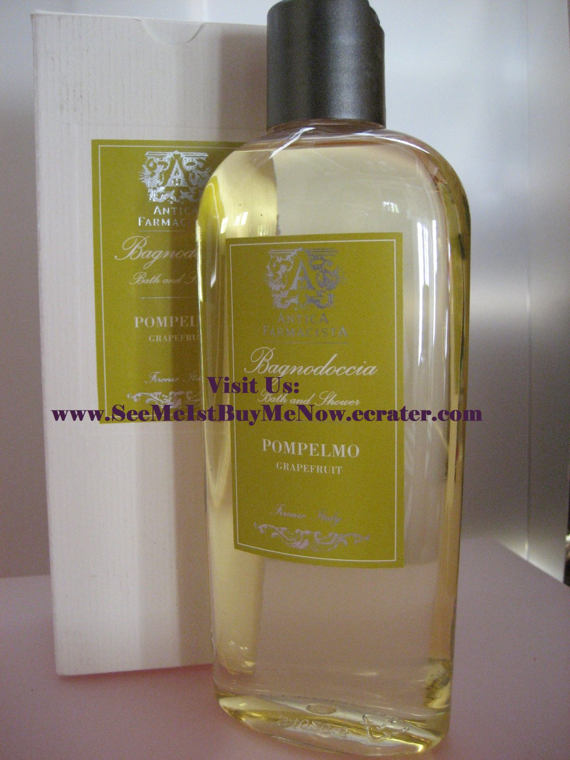 POMPELMO GRAPEFRUIT Bath Shower Gel ANTICA FARMACISTA luxurious scented bubble soak