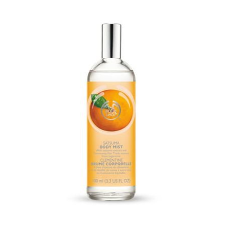 THE BODY SHOP Satsuma FRAGRANCE MIST Natural Organic citrus Clementine orange Scented Spray
