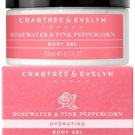 Crabtree & Evelyn London ROSEWATER & PINK PEPPERCORN BODY GEL easy absorbed light lotion NEW