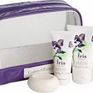 Crabtree & Evelyn IRIS kit set Body Lotion Cream Shower Gel shea butter Hand Therapy cake Soap