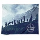 """Lord Of The Rings March to Mordor Tapestry 50""""x60"""" Wall Hanging Decor"""