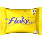 9 x pack of Cadbury's Flake chocolate, 230g, from theUK
