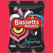 Bassett's Liquorice allsorts 215g direct from the UK !!