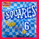Walkers square crisps Salt and Vinegar 6 pack from UK
