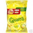 Walker's Cheese quavers potato snack x 12