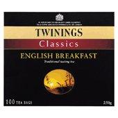 Twinings English Breakfast tea bags x 50