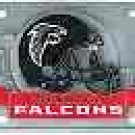 Falcons 3D License Plate
