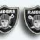 Oakland Raiders Earrings