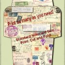 Airmail Envelope Printable