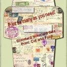 Airmail Envelope Printable