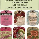 Antique Vintage Label Tags Printable