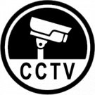 CCTV Camera Recording Vinyl Decal Stickers Window Hidden Cam Warning
