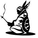 Indian Tribe Elder Vinyl Decal Sticker Native American Symbol Car Laptop Wall Window Mailbox Spirit