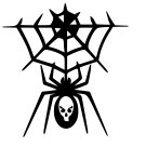 Spider Vinyl Decal Sticker Design #9 Car Window Wall Laptop iPhone Bumper Weatherproof Web