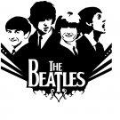 The Beatles Vinyl Decal Sticker #1 Car Window John Lennon Paul McCartney Ringo Starr George Harrison