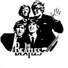 The Beatles Vinyl Decal Sticker #2 Car Window John Lennon Paul McCartney Ringo Starr George Harrison