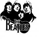 The Beatles Vinyl Decal Sticker #3 Car Window John Lennon Paul McCartney Ringo Starr George Harrison