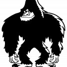 Bigfoot Design #8 Vinyl Decal Stickers Car Window Laptop iPhone Wall Sasquatch Yeti Humanoid Ape