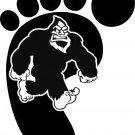 Bigfoot Design #9 Vinyl Decal Stickers Car Window Laptop iPhone Wall Sasquatch Yeti Humanoid Ape