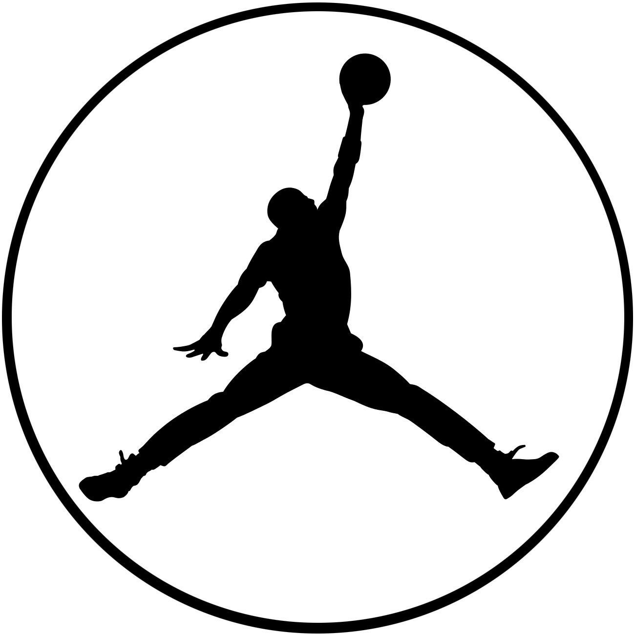 Michael Jordan Design #2 Vinyl Decal Sticker Basketball MJ NBA Jumpman Car Window Wall Air