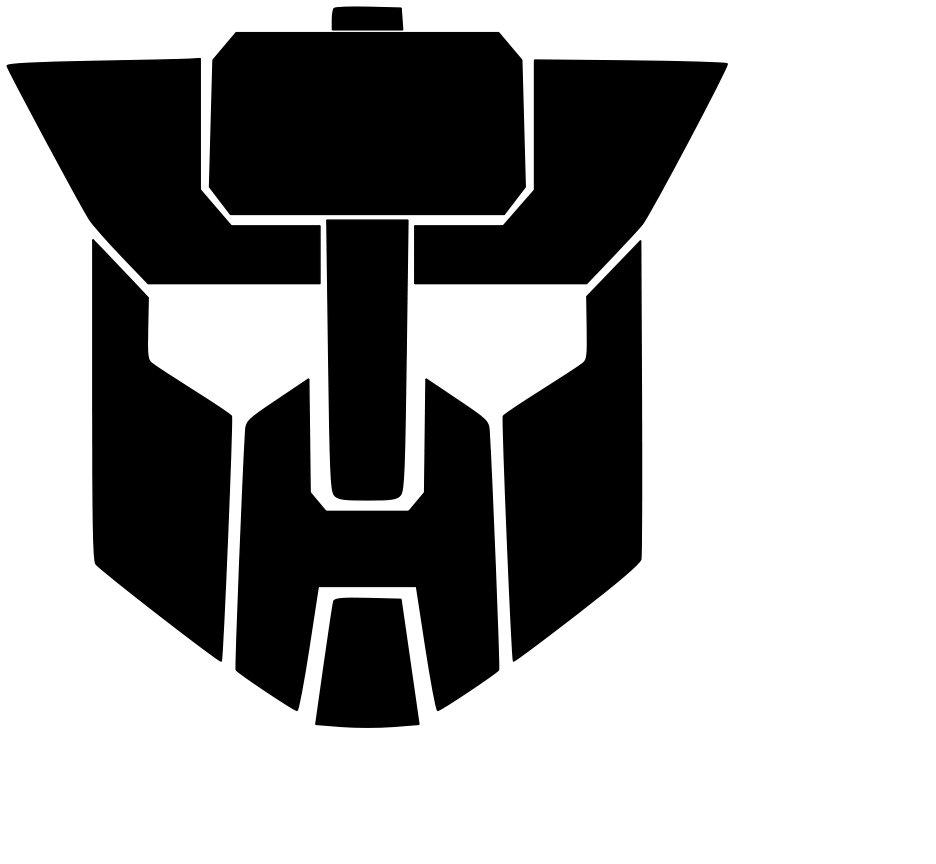 Robot Design#3 Vinyl Decal Sticker Car Window Design Laptop Wall Design Transformers Art