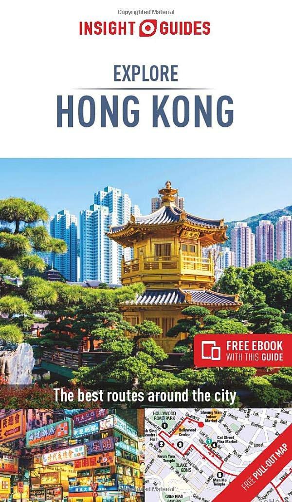 TRAVEL GUIDE BOOK HONG KONG  Insight Guides Explore Hong Kong Paperback