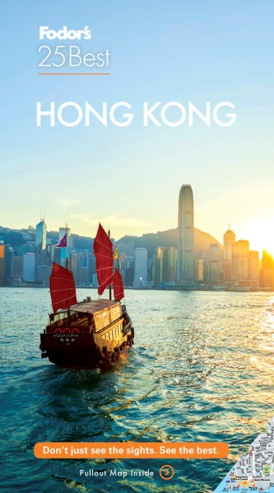 TRAVEL GUIDE BOOK HONG KONG Fodor's Hong Kong 25 Best (Full-color Travel Guide) Paperback