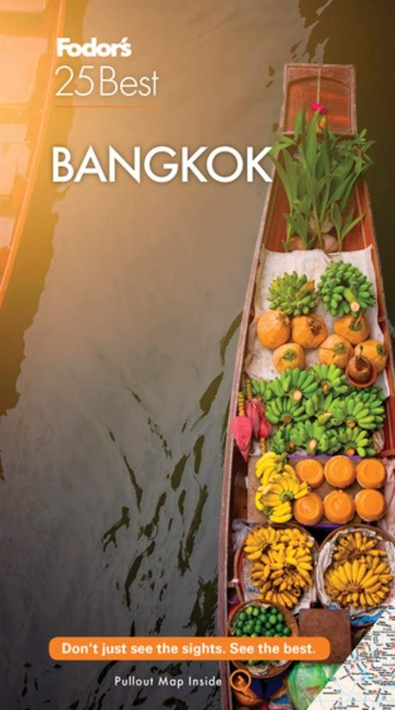 TRAVEL GUIDE BOOK THAILAND Fodor's Bangkok 25 Best (Full-color Travel Guide) Paperback