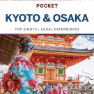 TRAVEL GUIDE BOOK JAPAN Lonely Planet Pocket Kyoto & Osaka 2 Paperback