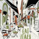 TRAVEL GUIDE BOOK ITALY Eat Italy 1 Paperback