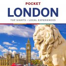 Lonely Planet Pocket London 6 Paperback TRAVEL GUIDE BOOK ENGLAND